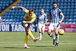 Kilmarnock v St Johnstone……15.08.20   Rugby Park  SPFL<br />Callum Hendry shoots over the bar<br />Picture by Graeme Hart.<br />Copyright Perthshire Picture Agency<br />Tel: 01738 623350  Mobile: 07990 594431
