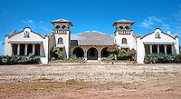 Duarte CA: Mission Revival School, 1247 Buena Vista St., Duarte. F.S. Allen, 1908.