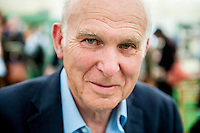 Tuesday  31 May 2016<br /> Pictured:  Vince Cable <br /> Re: The 2016 Hay festival take place at Hay on Wye, Powys, Wales
