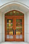 June 13, 2011; Geddes Hall door..Photo by Matt Cashore/University of Notre Dame
