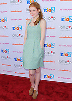 """BURBANK, CA, USA - APRIL 26: Katherine McNamara at the Lollipop Theater Network's Night Under The Stars Screening Of Twentieth Century Fox's """"Rio 2"""" Hosted by Anne Hathaway held at Nickelodeon Animation Studios on April 26, 2014 in Burbank, California, United States. (Photo by Xavier Collin/Celebrity Monitor)"""