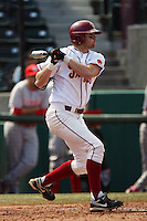 March 7 2010: Alex Sherrod of USC during game against University of New Mexico at Dedeaux Field in Los Angeles,CA.  Photo by Larry Goren/Four Seam Images