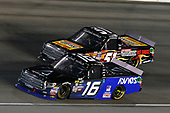 NASCAR Camping World Truck Series<br /> TheHouse.com 225<br /> Chicagoland Speedway, Joliet, IL USA<br /> Friday 15 September 2017<br /> Ryan Truex, ADVICS / AISIN Toyota Tundra and Myatt Snider, Louisiana Hot Sauce Toyota Tundra<br /> World Copyright: Russell LaBounty<br /> LAT Images