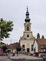 Evangelische Kirche an der Frantiskanov, Komarno, Nitriansky kraj, Slowakei, Europa<br /> Protestant Church at Frantiskanov St., Komarno, Nitriansky kraj, Slovakia, Europe