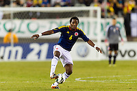 Carlos Sanchez (6) of Colombia. Brazil (BRA) and Colombia (COL) played to a 1-1 tie during international friendly at MetLife Stadium in East Rutherford, NJ, on November 14, 2012.