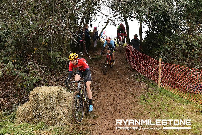 EVENT:<br /> Round 5 of the 2019 Munster CX League<br /> Drombane Cross<br /> Sunday 1st December 2019,<br /> Drombane, Co Tipperary<br /> <br /> CAPTION:<br /> Richard Barry of St Finbarrs CC in action during the A Race - Senior<br /> <br /> Photo By: Michael P Ryan