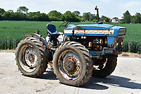 BNPS.co.uk (01202) 558833. <br /> Pic: Cheffins/BNPS<br /> <br /> Pictured: One of the rarest tractors on offer was this rare prototype six-cylinder Northrop sold for £79,864<br /> <br /> A farming family is today celebrating after their incredible collection of almost 100 vintage tractors sold for a staggering £1million.<br /> <br /> Father and son duo Ian and Martin Liddell began hoarding the agricultural vehicles at their arable farm in the 1980s.<br /> <br /> Their fleet of tractors was so large that they had to be stored in three barns.<br /> <br /> The prized collection sparked a worldwide bidding war when it was sold with auctioneers Cheffins, of Cambridge, after the family decided to part with the tractors to free up space on their Essex farm to pursue other projects.