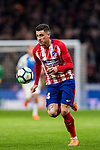 Jose Maria Gimenez de Vargas of Atletico de Madrid in action during the La Liga 2017-18 match between Atletico de Madrid and CD Leganes at Wanda Metropolitano on February 28 2018 in Madrid, Spain. Photo by Diego Souto / Power Sport Images