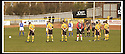 06/04/2002                 Copyright Pic : James Stewart .Ref :     .File Name : stewart-alloa v qos   01.PLAYERS AND MATCH OFFICIALS OBSERVE THE MINUTES SILENCE BEFORE THE MATCH....James Stewart Photo Agency, 19 Carronlea Drive, Falkirk. FK2 8DN      Vat Reg No. 607 6932 25.Office     : +44 (0)1324 570906     .Mobile  : + 44 (0)7721 416997.Fax         :  +44 (0)1324 630007.E-mail  :  jim@jspa.co.uk.If you require further information then contact Jim Stewart on any of the numbers above.........