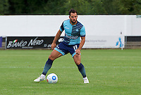 Sam Wood of Wycombe Wanderers during the Friendly match between Maidenhead United and Wycombe Wanderers at York Road, Maidenhead, England on 30 July 2016. Photo by Alan  Stanford PRiME Media Images.