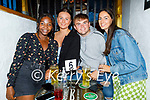 Enjoying the evening in Sean Og's on Thursday, l to r: Mary Nyoike, Annie Russell, Colin Foley and Iseult O'Conaill.