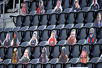 WASHINGTON, DC - SEPTEMBER 27: D.C. United cardboard fans at the game during a game between New England Revolution and D.C. United at Audi Field on September 27, 2020 in Washington, DC.
