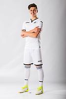Jack Evans<br />Swansea City FC kit photo shoot at the Liberty Stadium, Wales, UK. Wednesday 03 May 2017