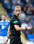 St Johnstone v Aberdeen…15.09.18…   McDiarmid Park     SPFL<br />Referee Willie Collum<br />Picture by Graeme Hart. <br />Copyright Perthshire Picture Agency<br />Tel: 01738 623350  Mobile: 07990 594431