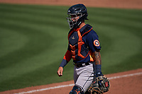 Houston Astros catcher Korey Lee (87) during a Major League Spring Training game against the St. Louis Cardinals on March 20, 2021 at Roger Dean Stadium in Jupiter, Florida.  (Mike Janes/Four Seam Images)