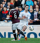 Lee Wallace and Morgaro Gomis