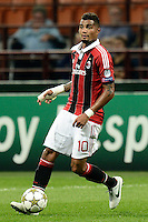 Football: Champions League, AC Mailand, Milan, 18.09.2012<br /> Kevin Prince Boateng<br /> © pixathlon<br /> ITA AND FRA OUT !