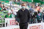 19.09.2020, wohninvest Weserstadion, Bremen, GER,  SV Werder Bremen vs Hertha BSC Berlin, <br /> <br /> <br />  im Bild<br /> <br /> Frank Baumann (Geschäftsführer Fußball Werder Bremen)<br /> enttäuscht / enttaeuscht / traurig / Niederlage / dissapointed<br /> mit CORONA Gesichtsmaske<br /> <br /> Foto © nordphoto / Kokenge<br /> <br /> DFL regulations prohibit any use of photographs as image sequences and/or quasi-video.