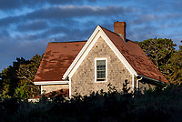 Nauset Lighthouse keepers house, Eastham, Cape Cod, Massachusetts, USA.