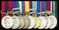 War hero who charged the enemy during the legendary raid on Goose Green is selling his medals