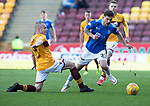 Motherwell v St Johnstone….30.03.19   Fir Park   SPFL<br />Matty Kennedy is fouled by Liam Grimshaw<br />Picture by Graeme Hart. <br />Copyright Perthshire Picture Agency<br />Tel: 01738 623350  Mobile: 07990 594431