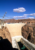 Hoover Dam, Nevada. The largest Dam in the world, Boulder City, Nevada and Arizona