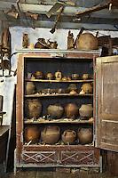 Europe/France/Aquitaine/64/Pyrénées-Atlantiques/Pays-Basque/Isturitz: Musée etnographique Xanxotea - Les poteries