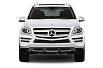 2013 Mercedes GL-Class GL450 Luxury SUV Straight front view Stock Photo