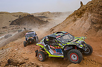 7th January 2021; Riyadh to Buraydah, Saudi Arabia; Dakar Rally, stage 5;  #388 Besson Jean-Pascal (fra), Roissac Patrice (fra), Pinch Racing, Rally Raid Comcept, Light Weight Vehicles Prototype - T3, action during the 5th stage of the Dakar 2021 between Riyadh and Al Qaisumah, in Saudi Arabia on January 7, 2021