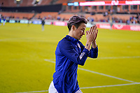 HOUSTON, TX - FEBRUARY 03: Megan Rapinoe #15 of the United States during a game between Costa Rica and USWNT at BBVA Stadium on February 03, 2020 in Houston, Texas.