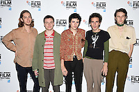 """Swim Deap<br /> at the London Film Festival 2016 premiere of """"On the Road"""" at the BFI, South Bank, London.<br /> <br /> <br /> ©Ash Knotek  D3169  09/10/2016"""