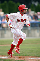 July 9th, 2007:  Will Groff of the Batavia Muckdogs, Short-Season Class-A affiliate of the St. Louis Cardinals at Dwyer Stadium in Batavia, NY.  Photo by:  Mike Janes/Four Seam Images