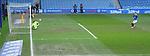 21.02.2021 Rangers v Dundee Utd: Benjamin Siegrist saves penalty from Borna Barisic