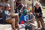 Trommelsession, Cala Benirras, Ibiza