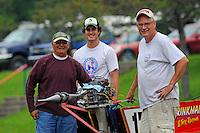 (LtoR): Eddie Giraud, Andy Tate and Mark Tate.