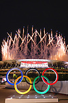 the National Stadium, <br />JULY 23, 2021 : <br />Tokyo 2020 Olympic Games Opening Ceremony at the Olympic Stadium in Tokyo, Japan. <br />(Photo by Naoki Nishimura/AFLO SPORT)