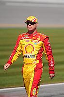 Feb 08, 2009; Daytona Beach, FL, USA; NASCAR Sprint Cup Series driver Kevin Harvick during qualifying for the Daytona 500 at Daytona International Speedway. Mandatory Credit: Mark J. Rebilas-