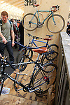 BESPOKED UK Handmade Bicycle Show 2015 held in the Brunel Engine Shed at Temple Meads Station and the Arnolfini Centre in Bristol, England. 18th April 2015.<br /> Photo: Eoin Clarke www.newsfile.ie