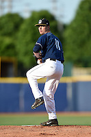 Lake County Captains pitcher Robbie Aviles (11) delivers a pitch during a game against the Dayton Dragons on June 7, 2014 at Classic Park in Eastlake, Ohio.  Lake County defeated Dayton 4-3.  (Mike Janes/Four Seam Images)