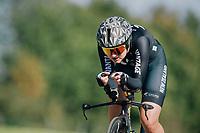 Georgia Williams (NZL/Mitchelton-Scott)<br /> <br /> WOMEN ELITE INDIVIDUAL TIME TRIAL<br /> Hall-Wattens to Innsbruck: 27.8 km<br /> <br /> UCI 2018 Road World Championships<br /> Innsbruck - Tirol / Austria