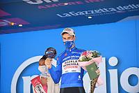 30th May 2021; 104th Giro d Italia 2021, 21st stage Senago to Milan, Italy;  Ag2r - Citroen Bouchard, Geoffrey Milano - celebrates on the podium