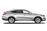 Passenger side profile view of a 2012 Honda Crosstour EXL.