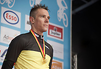 Philippe Gilbert (BEL/BMC) is the 2016 Belgian National Roadcycling Champion<br /> <br /> Belgian National Road Cycling Championships 2016<br /> Les Lacs de l'Eau d'Heure