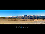 Great Smoky Mountains National Park - Cades Cove Panorama