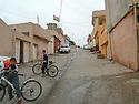 Iraq 2011      <br /> IA street of Duhok with the Kurdish flag on an House <br /> Irak 2011 <br /> Une rue de Dohok avec le drapeau kure flottant sur une maison