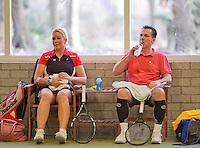 March 7, 2015, Netherlands, Hilversum, Tulip Tennis Center, NOVK, Josephine van der Stroom/Gerrie Verkoelen (NED)<br /> Photo: Tennisimages/Henk Koster