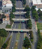 aerial photograph, Richmond, Virginia, interstate