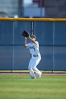 Tyler Martinez (7) of Gilman High School in Towson, Maryland during the Baseball Factory All-America Pre-Season Tournament, powered by Under Armour, on January 13, 2018 at Sloan Park Complex in Mesa, Arizona.  (Mike Janes/Four Seam Images)