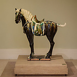 The horse gifted by Mrs Betty Tung, wife of Hong Kong's first Chief Executive.