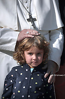 Pope Francis during of a weekly general audience at St Peter's square in Vatican, Wednesday.October 23, 2019